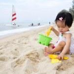 Beach playtime — Stock Photo