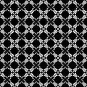 Seamless crisscross geometric pattern. — Stock Vector