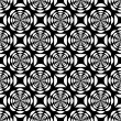 Royalty-Free Stock Vector Image: Seamless op art pattern.