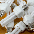 Bulbs in a pile — Stock Photo