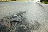 Pothole — Stock Photo