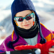 Skier Portrait — Stock Photo