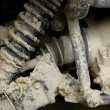 Muddy suspension - Stock Photo