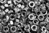 Metal Nuts — Stock Photo