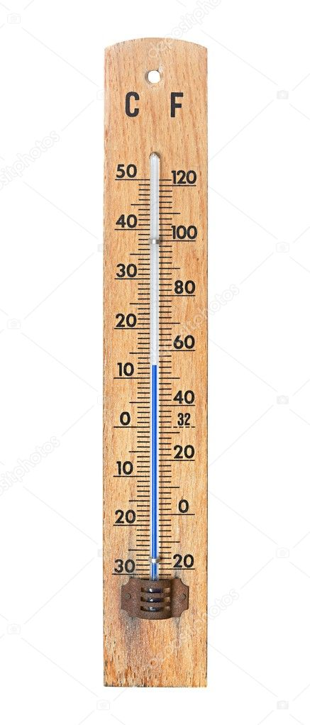 Thermometer showing 12 degrees Celsius — Stock Photo #9724828
