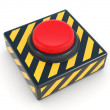 Stock Photo: Red panic button