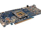 Electronic circuit background — Stock Photo