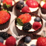 Berries dessert — Stock Photo