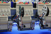 Industrial Embroidery Machine — Stock Photo