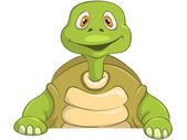 Funny Turtle — Stock Vector