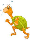 Cartoon karakter schildpad — Stockvector