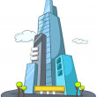 Cartoon Skyscraper — Stock Vector #8604513