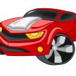 Cartoon Car — Stock Vector