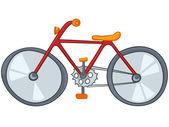 Cartoon Bicycle — Stock Vector