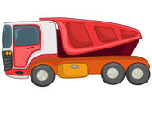 Cartoon Truck — Vector de stock
