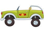 Auto di cartone animato — Vettoriale Stock