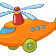 Cartoon Helicopter — Stock Vector #8772981
