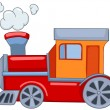 Cartoon Train — Imagen vectorial
