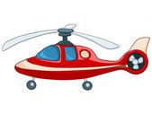 Cartoon Helicopter — Stock Vector