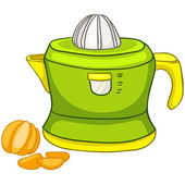 Cartoon Home Kitchen Juicer — Stock Vector