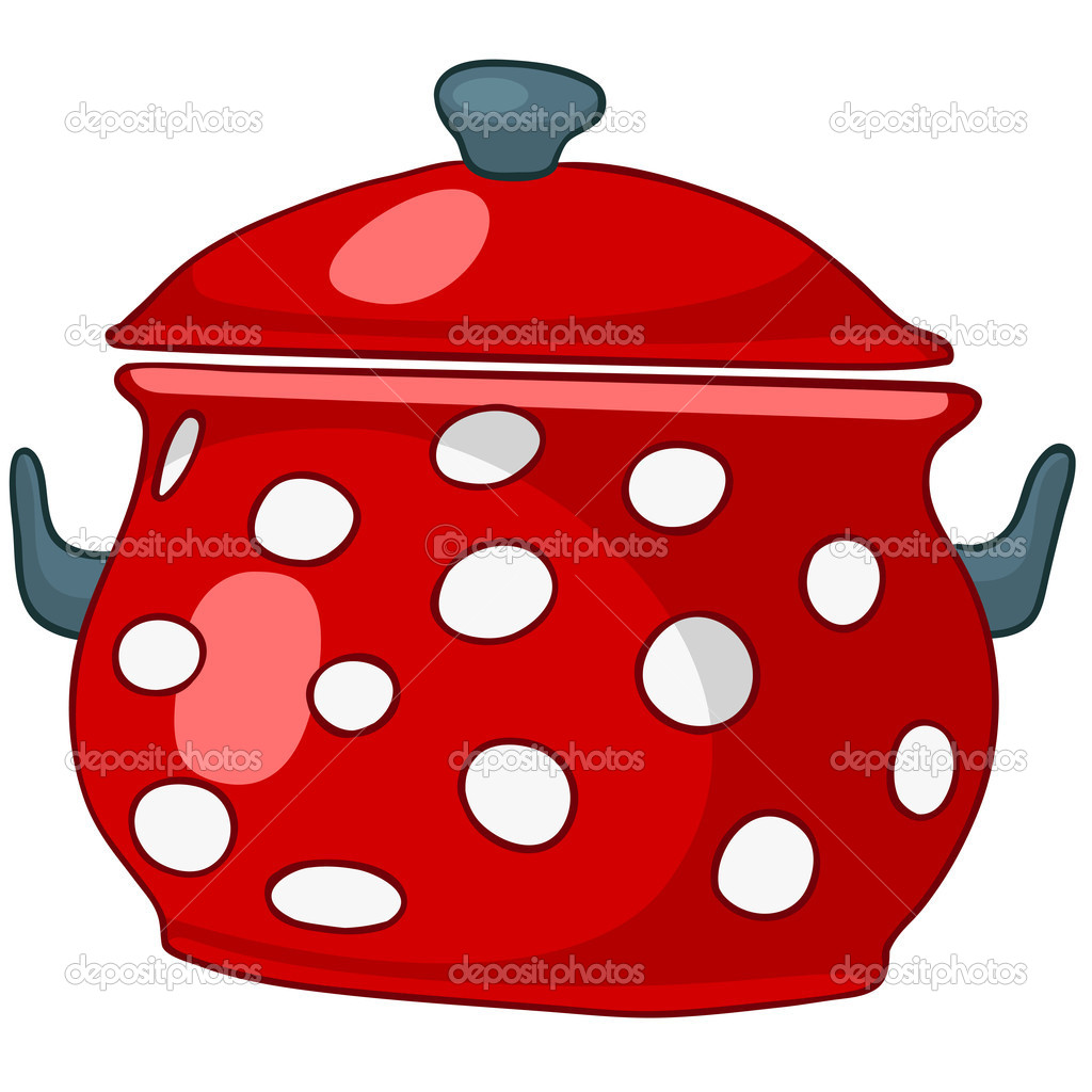 Cartoon Cooking Pot