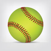 Baseball ball — Stock Vector