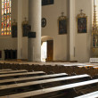 Church with warm light — Stock Photo
