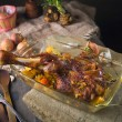 Roasted lamb — Stock Photo #10119468