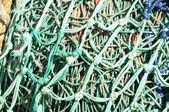 Rybářské sítě — Stock fotografie
