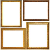 Vintage picture frame set — Stock Photo
