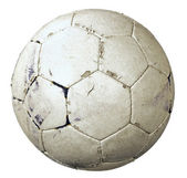 Used soccer ball — Stock Photo