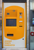 Automatic ticket machine — Stock Photo