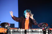 Concert Jean Michel Jarre — Stock Photo