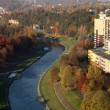 View from town hall Ostrava — Stock Photo