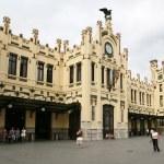 Train Station Valencia — Stock Photo