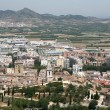 View from the historic castle in Xàtiva — Stock Photo