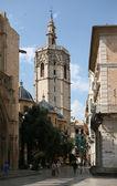 La storica torre della cattedrale — Foto Stock