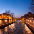Stock Photo: Evening Paris