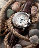 Men's classic watch — Foto Stock