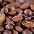 Background from coffee beans - Stock Photo