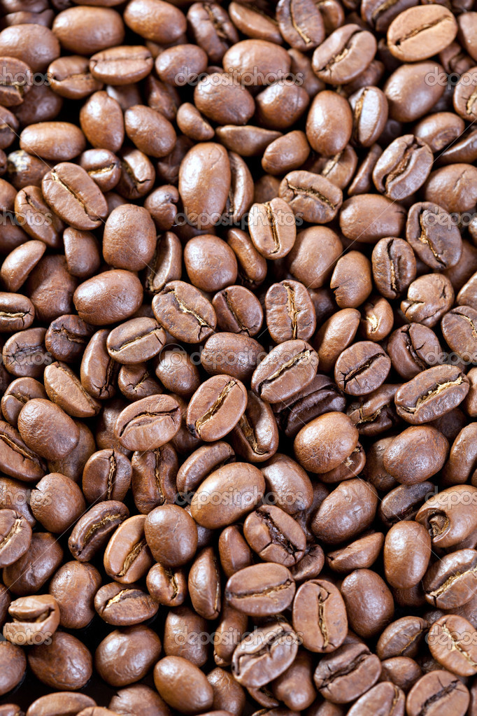 Background from coffee beans — Stock Photo #8910788