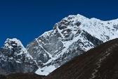 Berg-gipfel nicht mehr weit-everest-basislager — Stockfoto