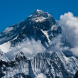 Everest Mountain Peak or Sagarmatha - top of the world — Stock Photo #9286699