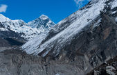 Everest or Chomolungma: highest peak in the world — Stockfoto