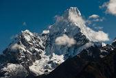 Ama Dablam summit in Himalayas — Stock Photo
