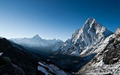 Cho La pass at dawn in Himalayas — Stock Photo