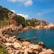 Stock Photo: The rocky coast of Sardinia