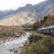Stock Photo: Train to Machu Picchu