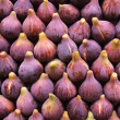 Fresh figs display — Stock Photo