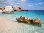 Rocky beach in Sardinia — Foto de Stock